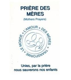 Prière des Mères logo