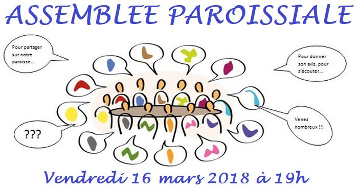 Assemblée paroissiale 20180316
