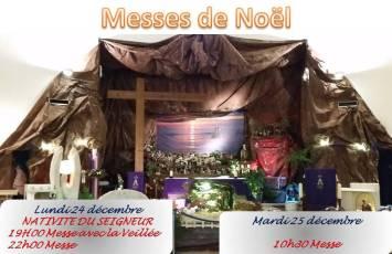 Messes de Noël 2018